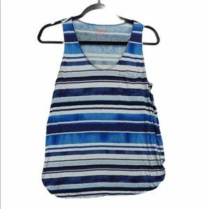Joe medium blue stripe tank top